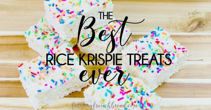 The Best Rice Krispie Treat Recipe, Ever