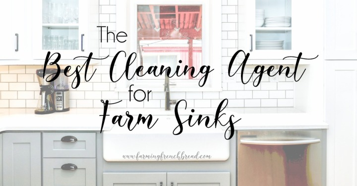 The BEST Cleaning Agent for Farm Sinks